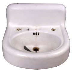 #32266 - Cast Iron Wall Mount Sink image