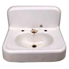 #32271 - Cast Iron Wall Mount Sink image