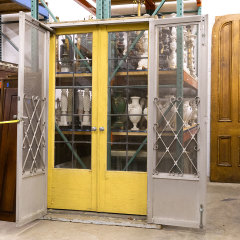 #33250 - Leaded Glass French Entry Doors and Screens image