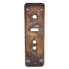 #33258 - Antique CEMCO Elevator Plate image