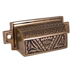#33287 - Reproduction Victorian Bin Pull image