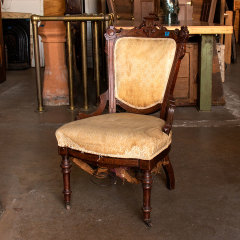 #33379 - Victorian Walnut Parlor Chair image