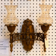 #33473 - Antique Bronze Wall Sconce image