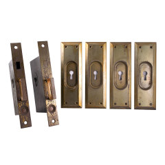 #33486 - Antique Corbin Pocket Door Set image