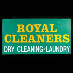 #34072 - Royal Cleaners Laundry Sign image