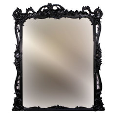 #34294 - Oversized Rococo Late Baroque Style Wall Mirror image