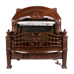 #34492 - Antique Gas Fireplace Insert image