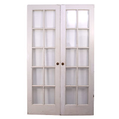 #34737 - 48x79 Salvaged Wood French Doors image