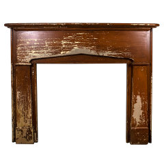 #34891 - Salvaged Wood Fireplace Mantel image