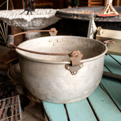 #35067 - Salvaged Metal Bowl with Handle image