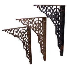 #35382 - Cast Iron Shelf Brackets image