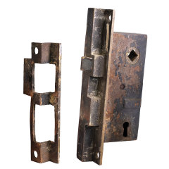 #35693 - French Door Mortise Latch and Strike image