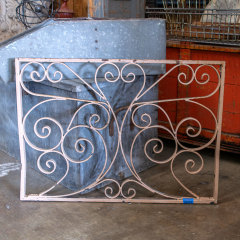 #35929 - Salvaged Wrought Iron Panel image