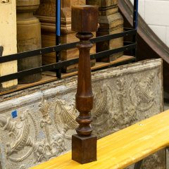 #36242 - Salvaged Wood Staircase Baluster image