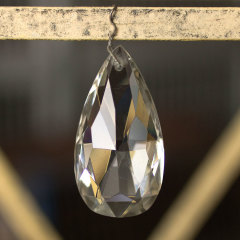 #36264 - Large Teardrop Chandelier Prism image