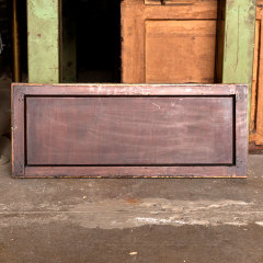 #36270 - 34x14 Salvaged Wood Transom Window image