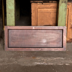 #36272 - 34x14 Salvaged Wood Transom Window image