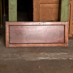 #36273 - 34x14 Salvaged Wood Transom Window image