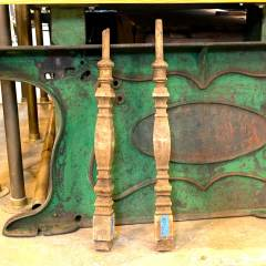 #36307 - Salvaged Oak Staircase Baluster image