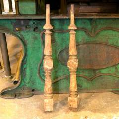 #36308 - Salvaged Turned Oak Staircase Baluster image