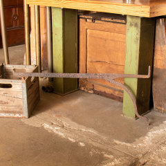 #36334 - Antique Fireplace Cooking Crane image