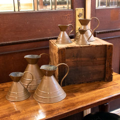 #36719 - Graduated Copper Pitcher Measure Set image