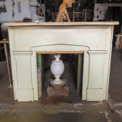 #36993 - Salvaged Wood Fireplace Mantel image