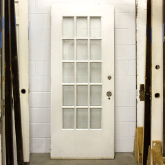 #37012 - 32x77 Salvaged French Entry Door image