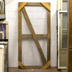 #37472 - 36x75 Salvaged Primitive Screen Panel image