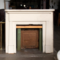#37574 - Salvaged Wood Fireplace Mantel image