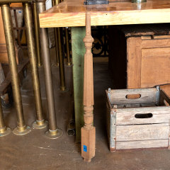 #37898 - Salvaged Walnut Staircase Baluster image