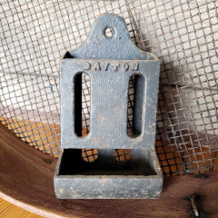 #37961 - Antique Iron Match Safe image