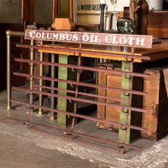 #37996 - Columbus Oil Cloth Metal Wall Rack image
