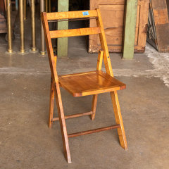 #38058 - Vintage Wood Folding Chair image