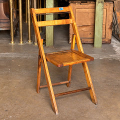 #38059 - Vintage Wood Folding Chair image