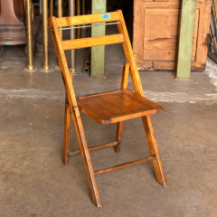 #38060 - Vintage Wood Folding Chair image