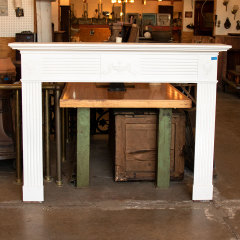 #38106 - Salvaged Wood Fireplace Mantel image