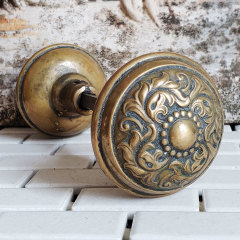 #38112 - Antique Lockwood Norwich Doorknobs image