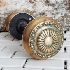 #38118 - Antique Sargent Entry Doorknob Hardware image