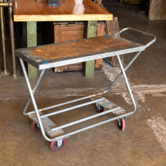 #38131 - Rolling Commercial Metal Cart image