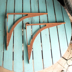 #38203 - Salvaged Rusty Metal Sink Brackets image
