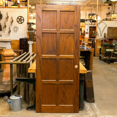 #38579 - 32x79 8 Panel Interior Oak Door image