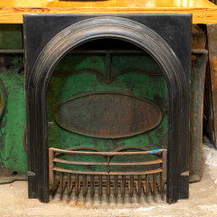 #38608 - Antique Fireplace Surround and Log Holder image