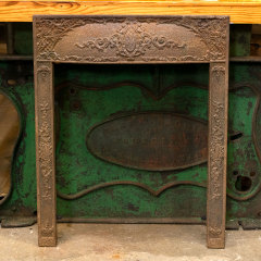 #38660 - Salvaged Cast Iron Fireplace Surround image