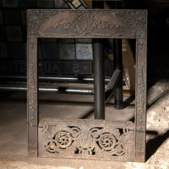 #38783 - Cast Iron Fireplace Surround & Ember Screen image