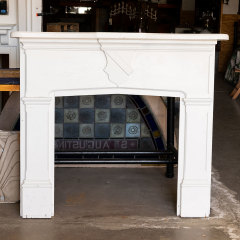 #38789 - Salvaged Wood Fireplace Mantel image