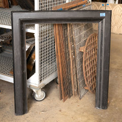 #38857 - Salvaged Cast Iron Fireplace Surround image