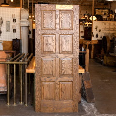 #5864 - 32x79 8 Panel Oak Door image