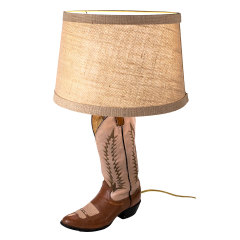 #7621 - Cowboy Boot Table Lamp image