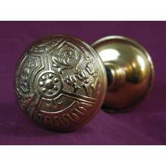#7820 - Pair of Corbin Ceylon Pattern Doorknobs image